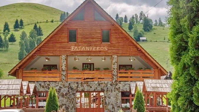 Csángó & Fatányéros Guesthouse Valea Rece