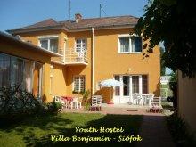 Accommodation Balatonfüred, Youth Hostel - Villa Benjamin