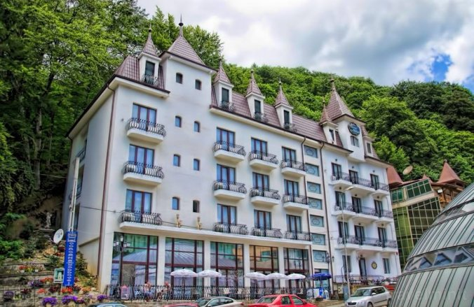Hotel Coroana Moldovei Slănic Moldova