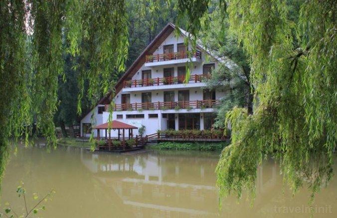 Lacul Liniștit Vendégház Menyháza