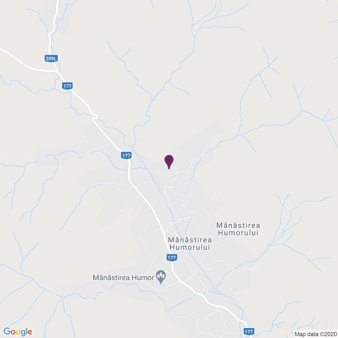 Maridor Panzió Mănăstirea Humorului