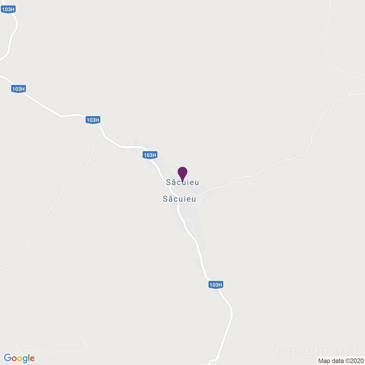 Casa din vale Săcuieu
