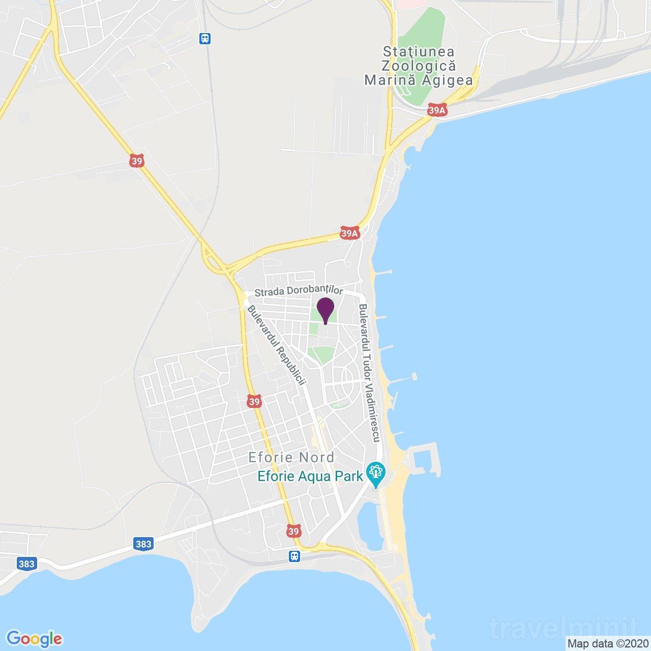 Casa del Mar Apartman Eforie Nord