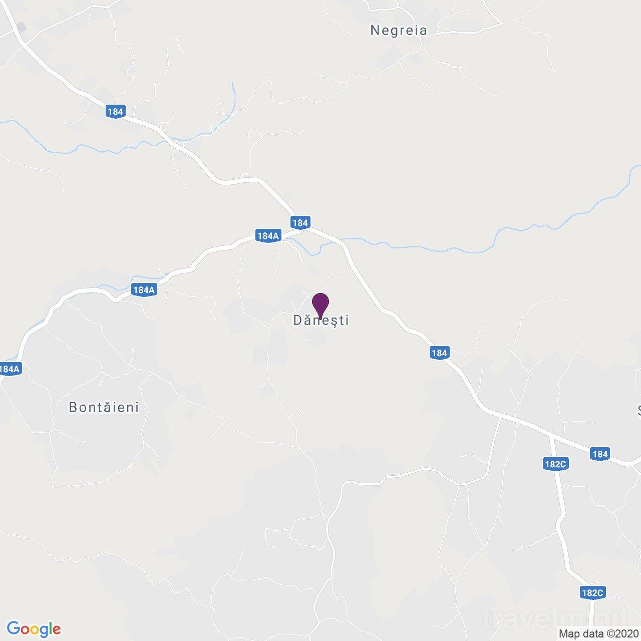 Hanul Teilor Panzió Dănești