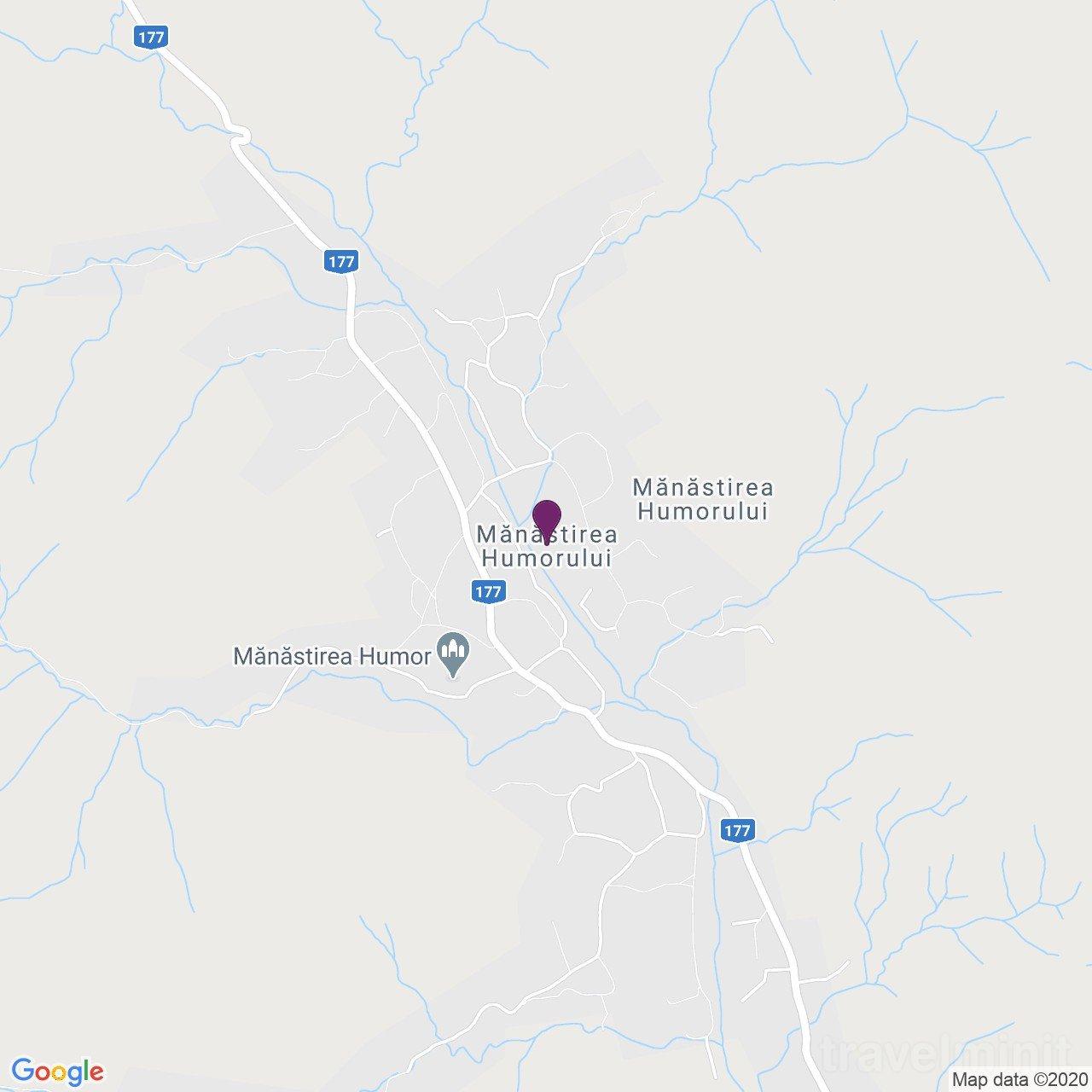 Petru Morosan Vendégház Mănăstirea Humorului