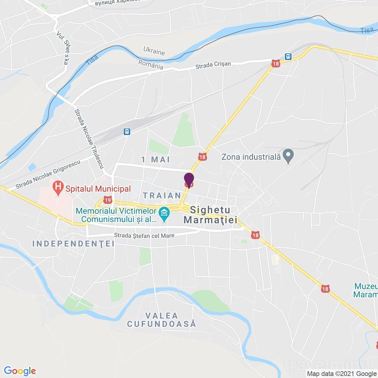 Casa Iurca de Calinesti Panzió Máramarossziget