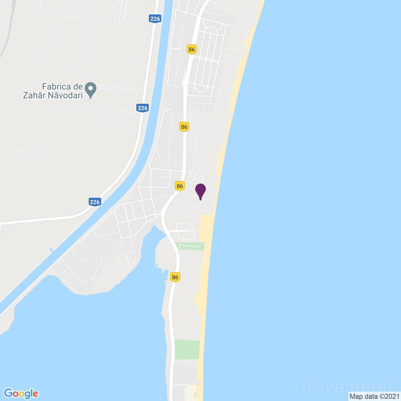 Direct la plaja 3 Apartman Mamaia